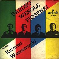Kwartet Warszawski - Bardzo wesołe piosenki