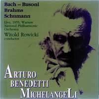 Benedetti Michelangeli, Arturo